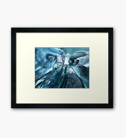 Beneath The Waves - Ayreon Framed Print