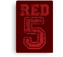 Red 5 Canvas Print