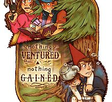 Nothing Ventured Nothing Gained by paigeonecomics