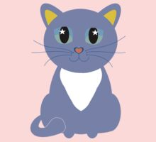 Only Lonely and Blue Cat Kids Clothes