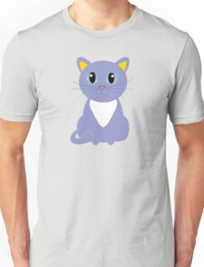 Only Lonely and Blue Cat Unisex T-Shirt