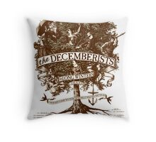 The Decemberists Throw Pillow
