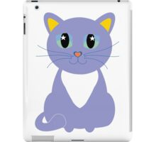 Only Lonely and Blue Cat iPad Case/Skin