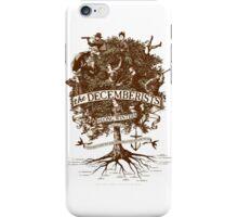 The Decemberists iPhone Case/Skin