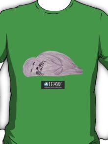 Save the Baby Seals - IFAW logo T-Shirt