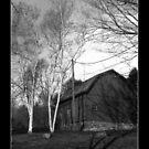 Conneticut Barn I (B&W 2) by carlina999