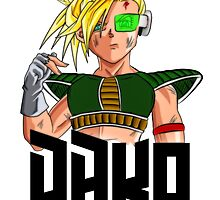 Dako, Dragonball z  by konart