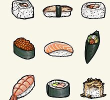 Sushi by Hannah Golden