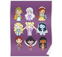 Lil' CutiEs - Alternate Princesses Group One Poster