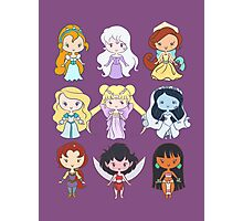 Lil' CutiEs - Alternate Princesses Group One Photographic Print