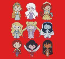 Lil' CutiEs - Alternate Princesses Group One Baby Tee