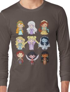 Lil' CutiEs - Alternate Princesses Group One Long Sleeve T-Shirt
