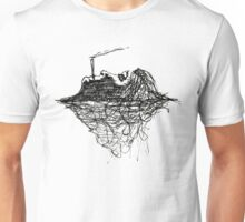 Drowned in thought. Unisex T-Shirt
