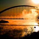 Sunset;over the bridge... by sendao
