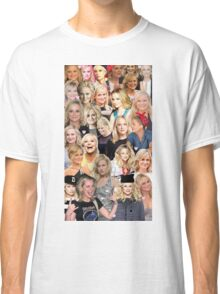Amy Poehler Collage Classic T-Shirt