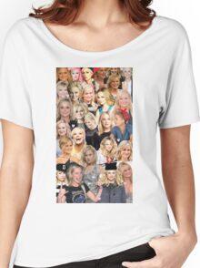 Amy Poehler Collage Women's Relaxed Fit T-Shirt