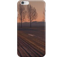 Velvet Sunset on Zen Road iPhone Case/Skin