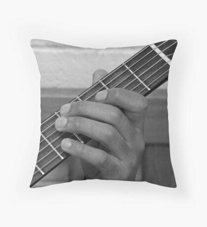 Fret Throw Pillow