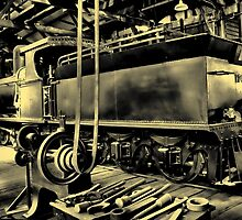 G Class Steam Locomotive by threewisefrogs