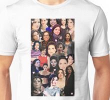 Lana Parrilla collage Unisex T-Shirt