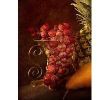Emperor Grapes Photographic Print