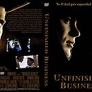 "DVD Cover Art for ""Unfinished Business"" © shhevaun.com 2007 by Shevaun Steffens"