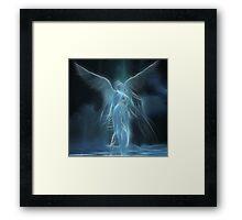 Sarah's Angel Framed Print