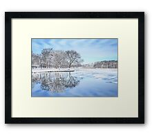 The March Of Winter Framed Print