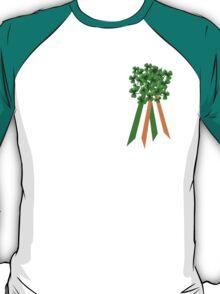T-Shirt: Ribbon and Shamrock for Saint Patrick's Day T-Shirt