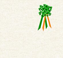 T-Shirt: Ribbon and Shamrock for Saint Patrick's Day Hoodie