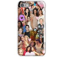 Rizzles collage iPhone Case/Skin