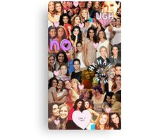 Rizzles collage Canvas Print