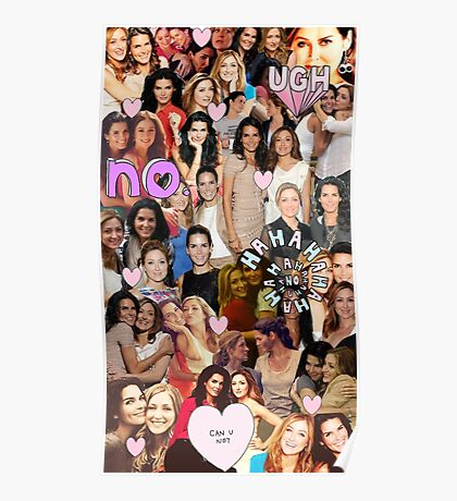 Rizzles collage Poster