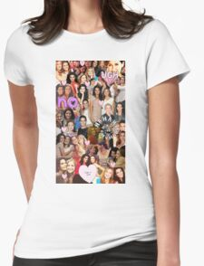 Rizzles collage Womens Fitted T-Shirt