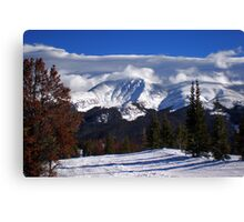 View From Mary Jane, CO Canvas Print