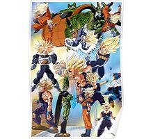 Cell Saga Poster
