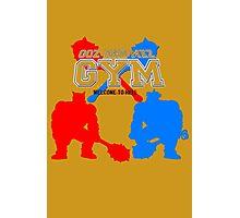 Goz and Mez Gym Photographic Print