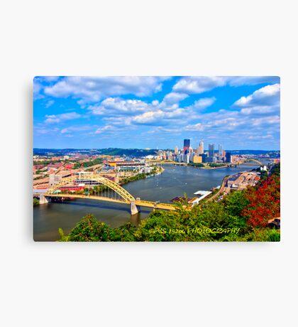 Pittsburgh Pennsylvania HDR Canvas Print