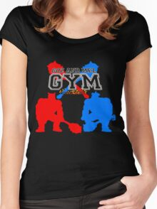 Goz and Mez Gym Women's Fitted Scoop T-Shirt