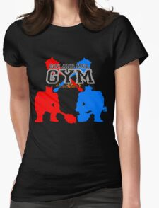 Goz and Mez Gym Womens Fitted T-Shirt