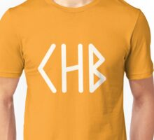 Camp Half Blood initial tee- White text Unisex T-Shirt