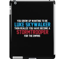 STORMTROOPER FOR THE EMPIRE iPad Case/Skin