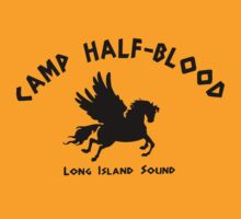 Camp Half Blood: Full camp logo by andyhex
