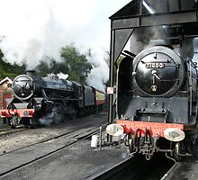 Steam Giants at work at Grosmont, North Yorkshire by FritzFitton