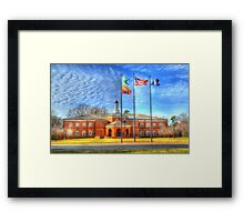 York County Courthouse Framed Print