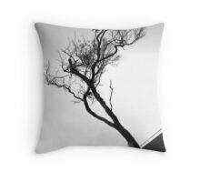 The Mystery Tree Throw Pillow