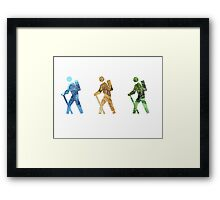 Hiker 3-Pack! Framed Print