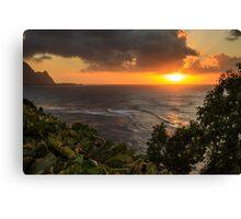 Bali Hai Sunset Canvas Print