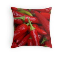 Well Hello Heat Throw Pillow