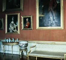 A collection of Ming vaases in Gallery Harewood House 1759 1771 West Yorkshire England 198406030024 by Fred Mitchell